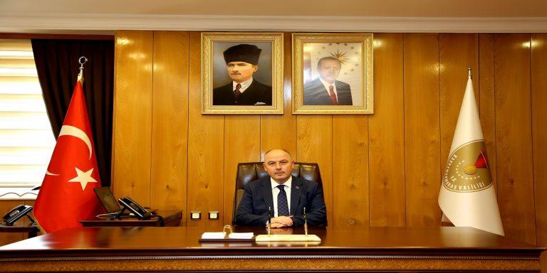 Vali Coşkun'dan 19 Mayıs Atatürk'ü Anma, Gençlik ve Spor Bayramı Mesajı