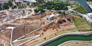 Başkan Güngör Kılavuzlu Millet Bahçesi İnşaat Alanını İnceledi