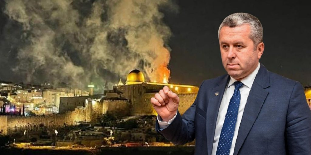 """Yardımcıoğlu: """"Bugün Filistin'e ve Gazze'ye çıkartma yapılsın!"""""""