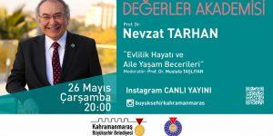 Değerler Akademisi Nevzat Tarhan'ı Konuk Edecek