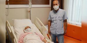 Sular Akademi'nin En yaşlı Hastası Ameliyat Sonrası Hemen Ayağa Kalktı
