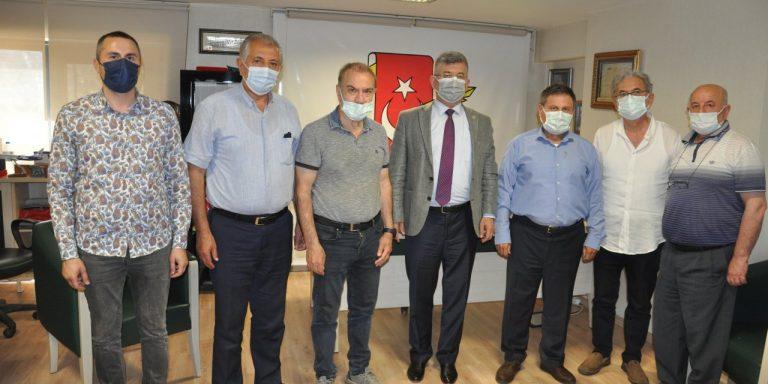 Aycan'dan KMBGC Yönetimine Ziyaret