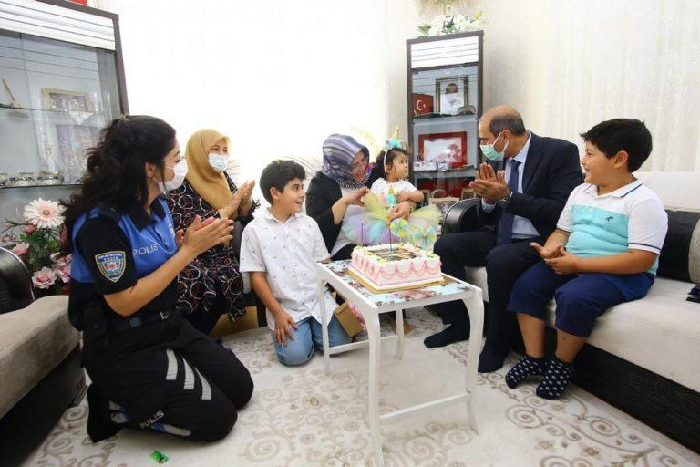 Cebeloğlu'ndan, Şehit Ailelerine Bayram Ziyareti