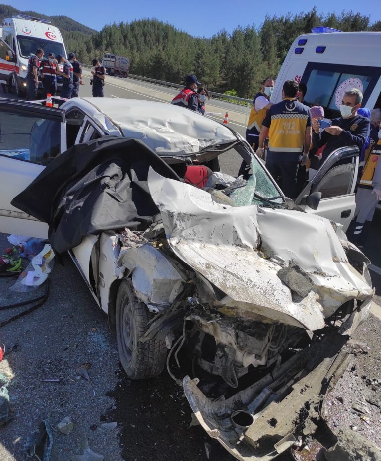 Kahramanmaraş'ta Feci Kaza: 3 ölü