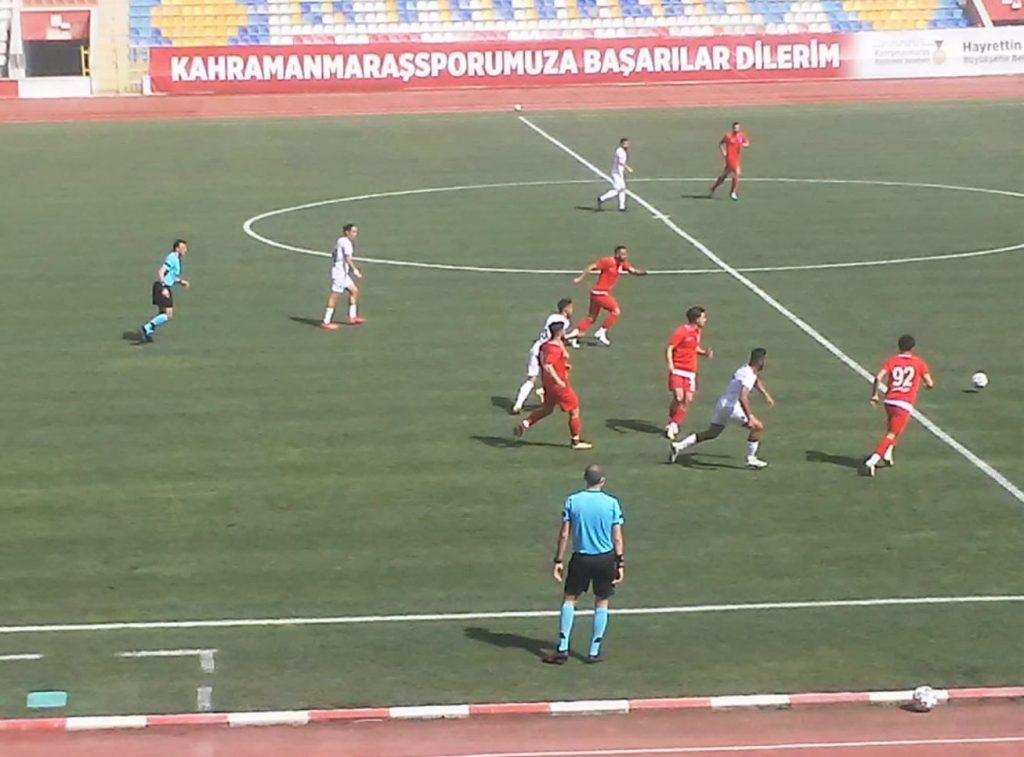 Kahramanmaraşspor Sancaktepe'yi 4-1 Mağlup Etti