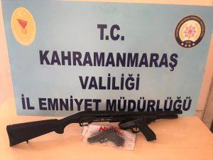 Kahramanmaraş'ta 12 Maganda'ya Gözaltı!