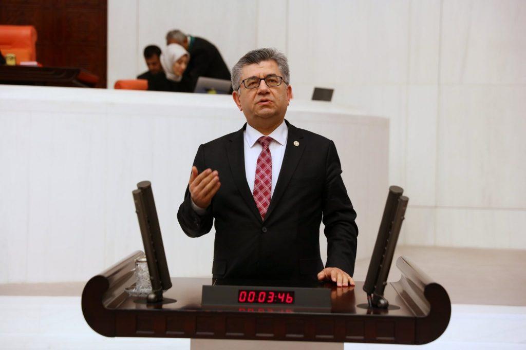 """MHP'li Aycan, """"Sağlık personelini yaşatmalıyız ki toplumu yaşatsın"""""""