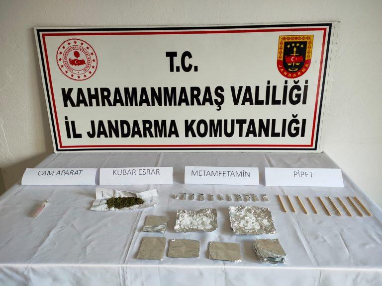 Pazarcık'ta Uyuşturucudan 8 Kişi'ye Gözaltı!