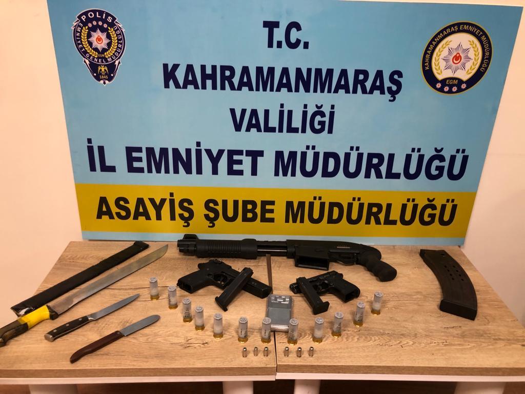 Kahramanmaraş'ta Kısıtlama İhlalinde Bulunan Magandalar Yakalandı