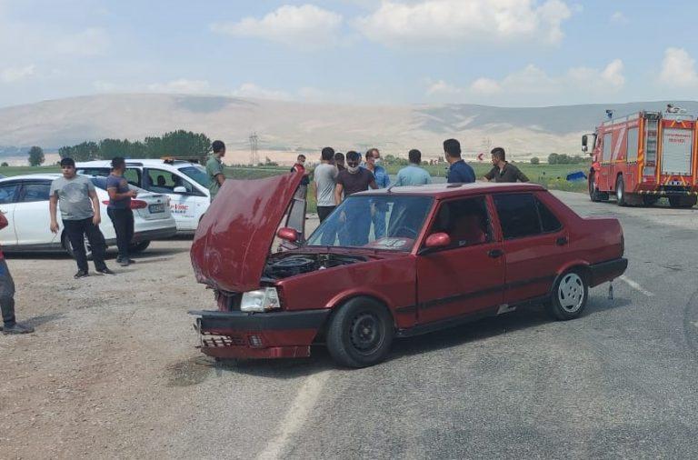 Kahramanmaraş'ta Askeri Araçla Otomobil Çarpıştı: 6 YARALI!
