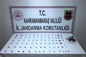 Kahramanmaraş'ta Tarihi Eser Kaçakçısına Gözaltı