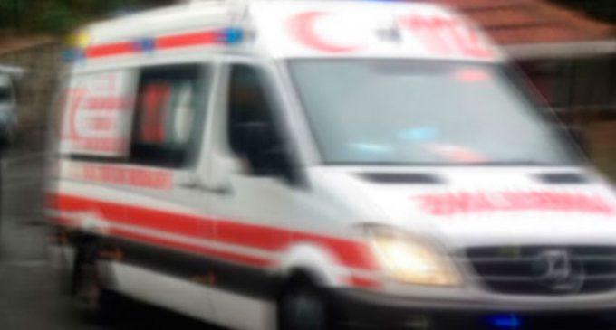Kahramanmaraş'ta Balkondan Düşen Vatandaş Yürekleri Ağıza Getirdi
