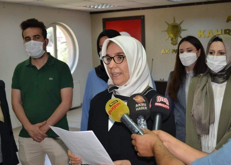 Kahramanmaraş İnsan Hakları Başkanı Meral Şirikçi'den Basın Toplantısı