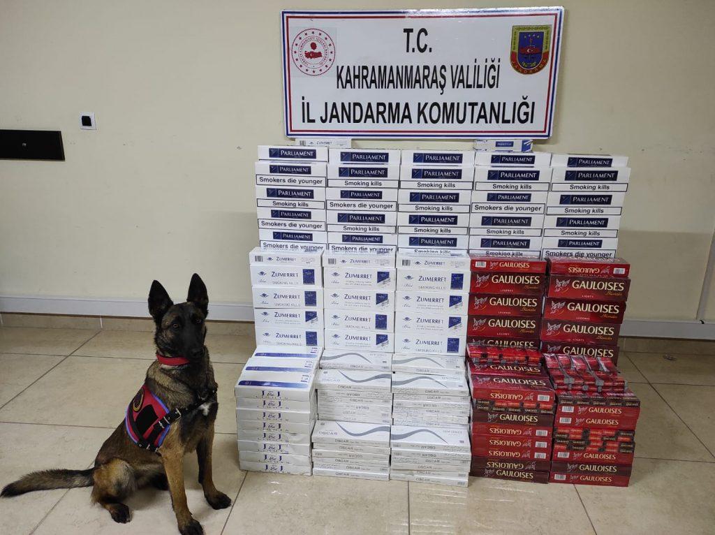 Kahramanmaraş'ta Kaçak Tütün Operasyonu: 3 Gözaltı