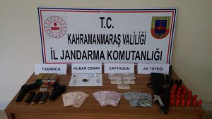 Kahramanmaraş'ta Zehir Tacirine Operasyon
