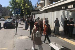 Tam Kapanmanın Ardından Kahramanmaraş Caddelerinde Yoğunluk