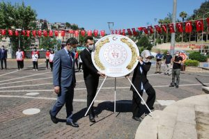 Kahramanmaraş'ta 19 Mayıs Törenle Kutlandı