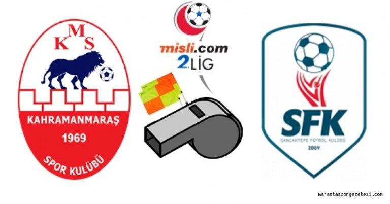 Kahramanmaraşspor – Sancaktepe Karşılaşması Yarın 15:00'te