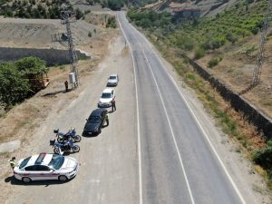 Kahramanmaraş'ta Sürücülere Havadan Ceza Yağdı