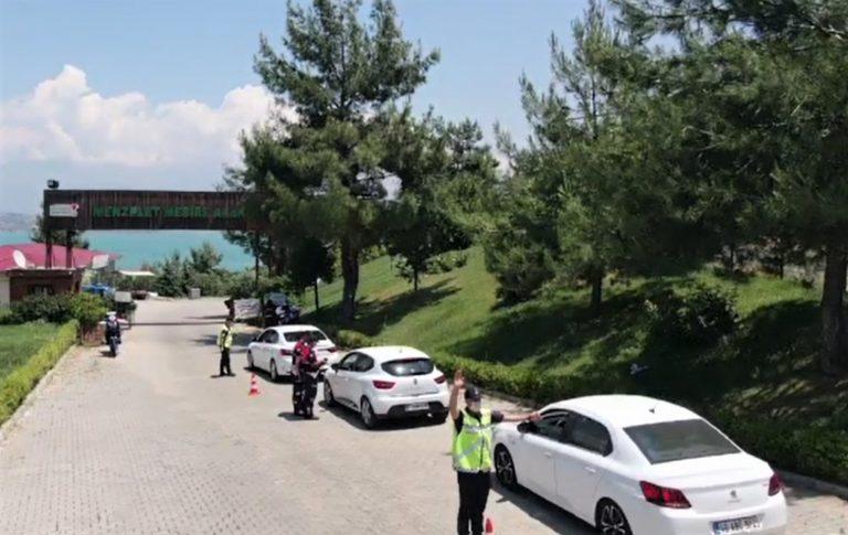 Jandarma'dan Dronlu Trafik Denetimi