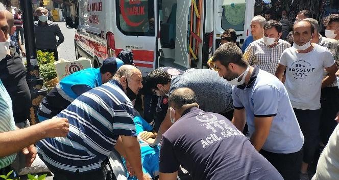 Kahramanmaraş'ta Temizlik Görevlisi Bıçaklandı