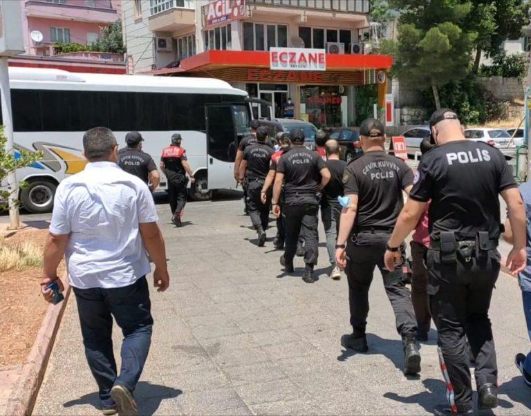 Kahramanmaraş'ta Aranan 83 Kişi'ye Baskın!