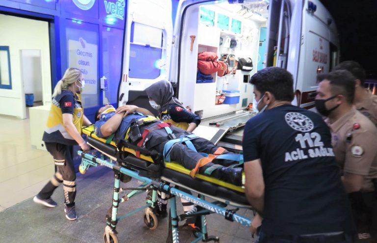 Bıçaklı Saldırgana Müdahale Eden Polis Yaralandı!