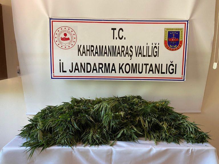 Yine Pazarcık'ta Uyuşturucu Ele Geçirildi!