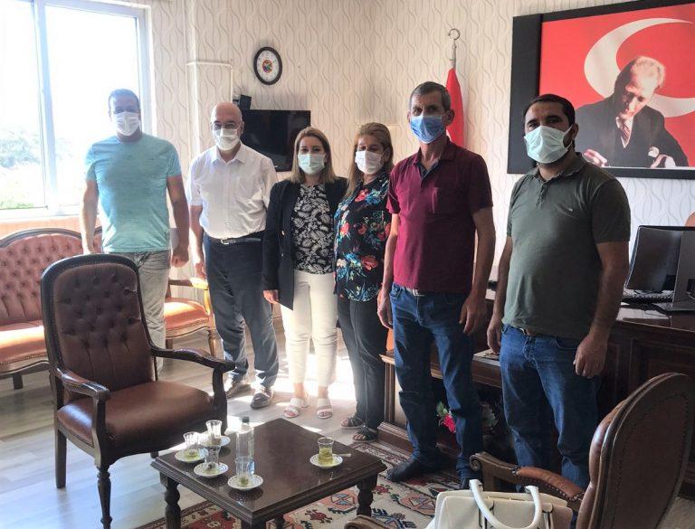 Anadolu Kahramanmaraş Şehit ve Gazi Aileleri Derneği'nden Ziyaret
