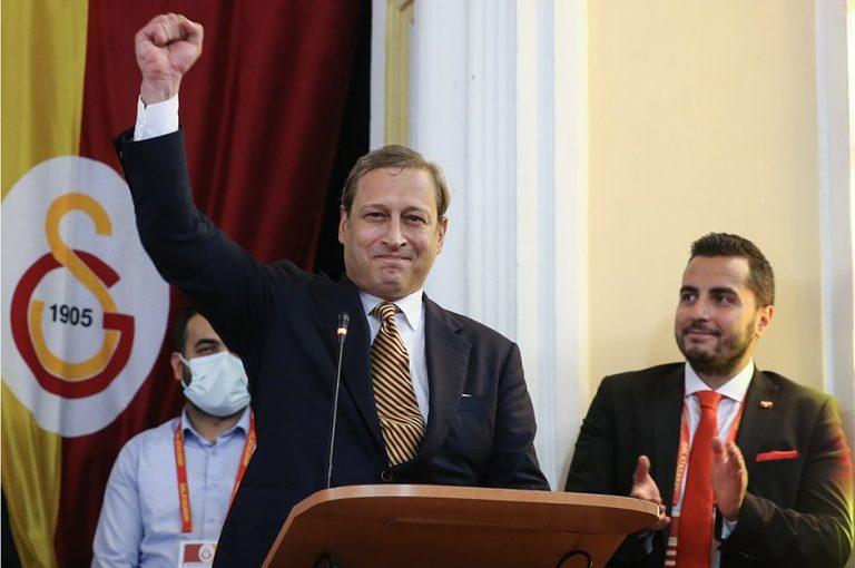 Galatasaray'ın Yeni Başkanı Burak Elmas, Sıcağı Sıcağına Söz Verdi
