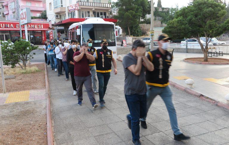 Kahramanmaraş'ta 'Sarı Maden' Operasyonu: 18 Gözaltı!