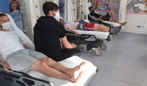 Elbistanspor Futbolcuları Hastahanelik Oldu!