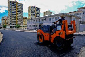Dulkadiroğlu'nda Asfalt Çalışmaları Devam Ediyor