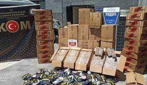 Kahramanmaraş'ta 178 bin 500 Adet Makaron Ele Geçirildi