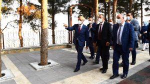 Özhaseki'den Başkan Güngör'e Teşekkür