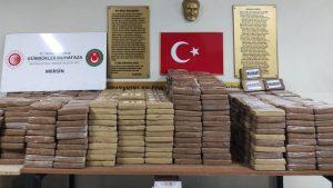 Türkiye'nin En Büyüğü Mersin Limanında Yakalandı!