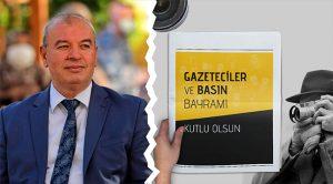 Kahveci'den '24 Temmuz Gazeteciler ve Basın Bayramı' Mesajı