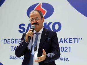 """SANKO Holding'te """"Değerli Yıllar Plaketi"""" Takdim Töreni"""