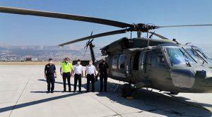 Kahramanmaraş'ta bayram trafiği havadan denetlendi