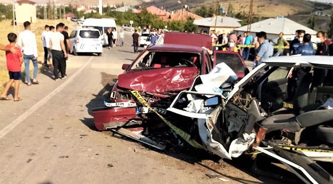 Kahramanmaraş'ta feci kaza: 1 ölü 6 yaralı