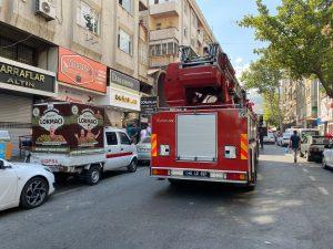 Kahramanmaraş'ta kuyumcu atölyesinde yangın çıktı