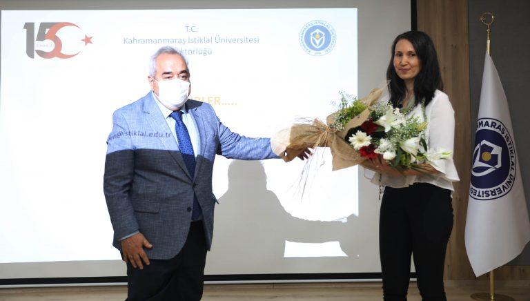 """Prof. Dr. Özgül: """"15 Temmuz, dünya tarihine altın harflerle yazılmış Türk milletinin direniş destanıdır"""""""