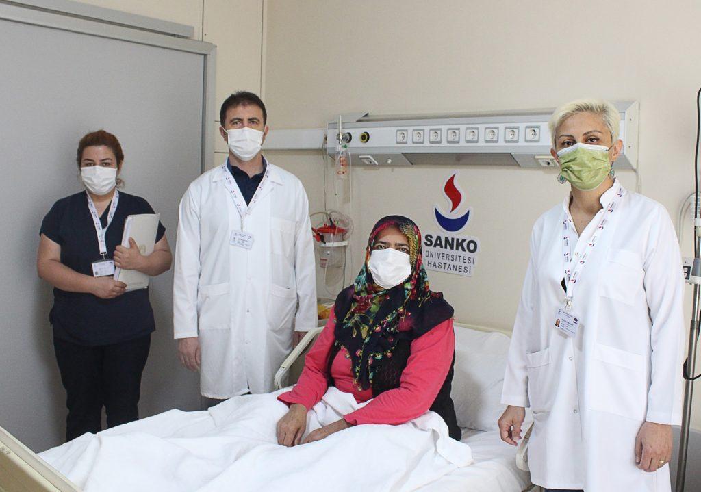 SANKO Üniversitesi Hastanesi'nde iki hastaya kadavra bağışı böbrek nakli yapıldı