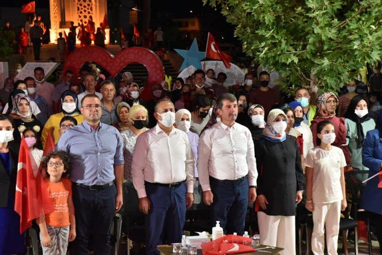 """""""Türkoğlu'nda 3 Gün devam eden 15 Temmuz Etkinlikleri Sona Erdi"""""""