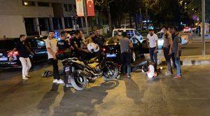 'Dur' ihtarına uymadı kaçarken polis memurunu otomobille sürükledi
