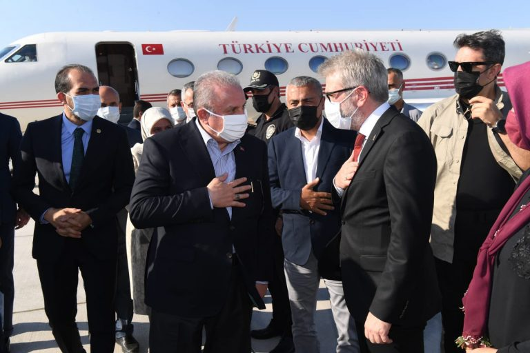 TBMM Başkanı Mustafa Şentop Kahramanmaraş'ta