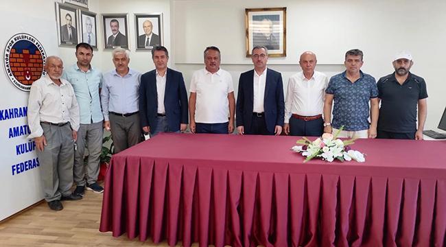Başkan Güngör'den ASKF Yeni Yönetimine Ziyaret