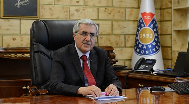 """KSÜ Rektörü Prof. Dr. Niyazi Can """"Ormanlarımız Yanıyor, Milletimiz Birlik ve Beraberlik İçinde Mücadele Veriyor!"""""""