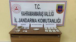 Kahramanmaraş'ta uyuşturucudan 5 kişi yakalandı