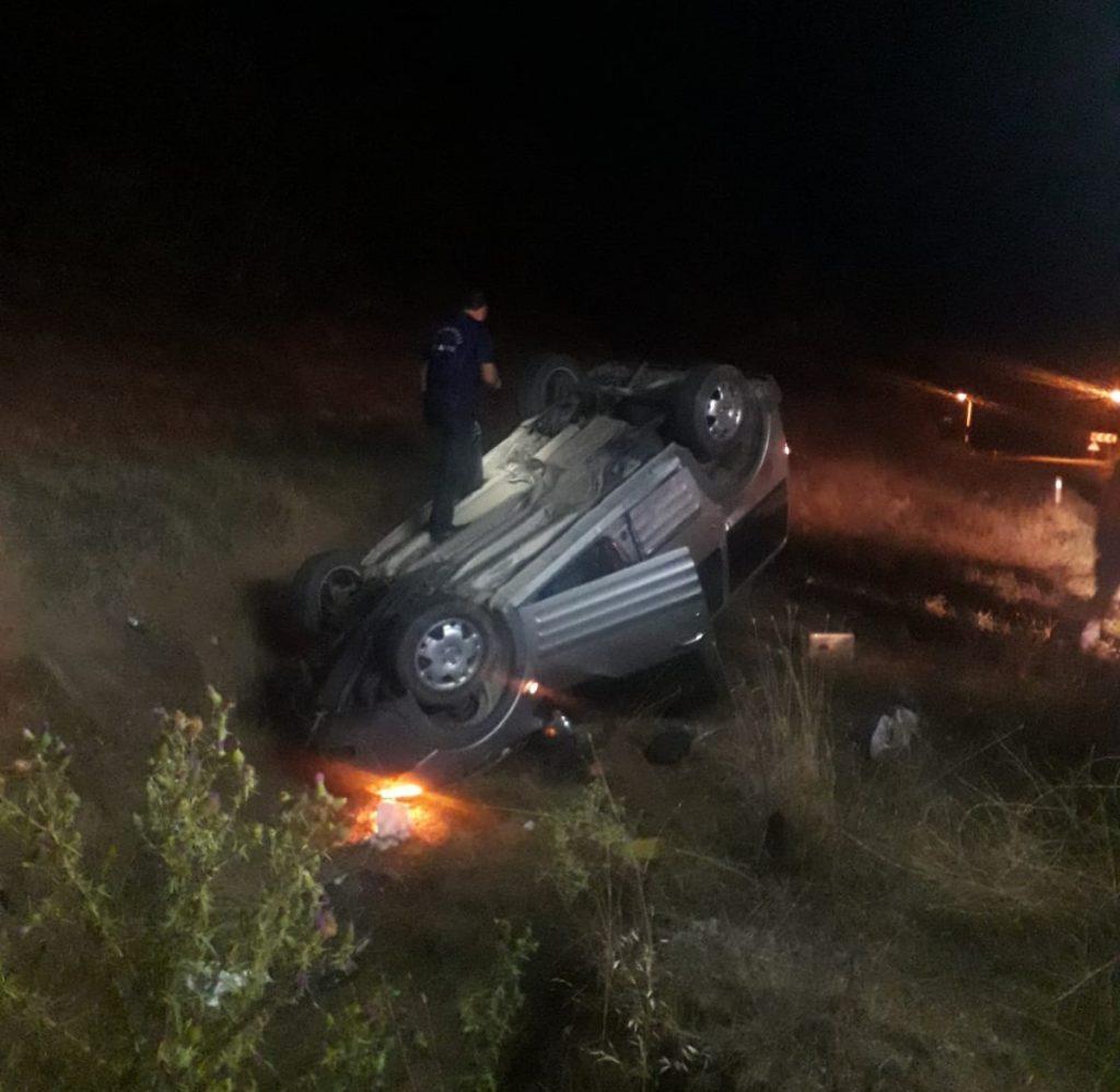 Aracıyla ineğe çarpan sürücü hayatını kaybetti